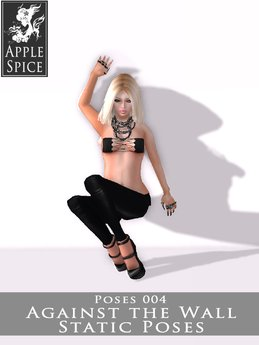 Apple Spice - Against the Wall Pose 004