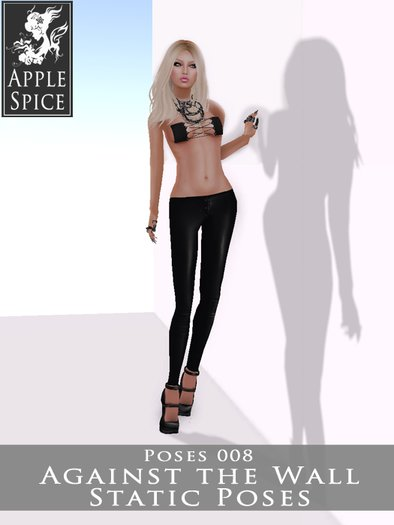 Apple Spice - Against the Wall Pose 008