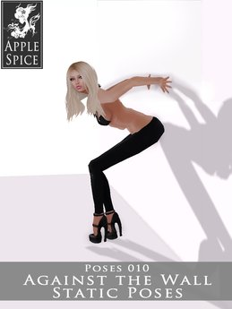 Apple Spice - Against the Wall Pose 010