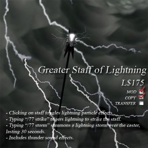 Greater Staff of Lightning