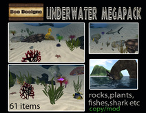 ONLY TODAY PROMO 1500L  OFF! Bee Designs underwater megapack