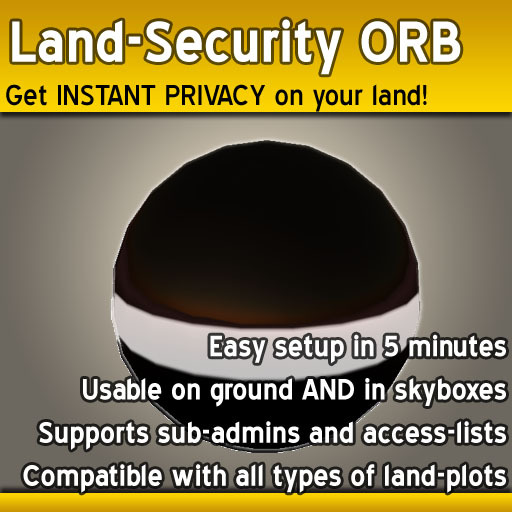 Land Security Orb, the ORIGINAL since 2006, by Thomas Conover