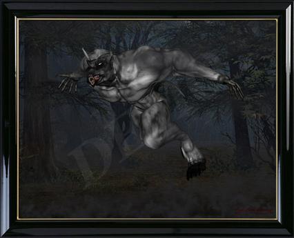"<Fantasy Art> ""The Chase"""