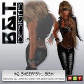 """:.<B&T>.: Sheer""""s""""it... Bish! ...black"""
