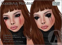 - DAMNED - Bleeding Makeup / Mascara & Blood Tears [BXD]