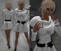 Ecarlate - Cobie - *C* - Dress Gown Formal - White / Robe
