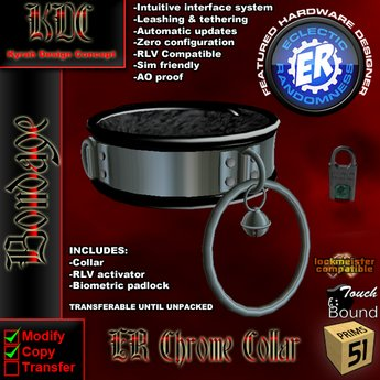 KDC/ER Chrome Collar