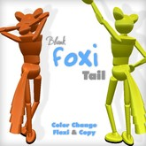 Anonymous Blank Foxi Tail