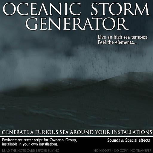 Générateur de tempêtes océaniques