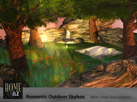 Romantic Outdoor Skybox with animations - NEW Lower Price!