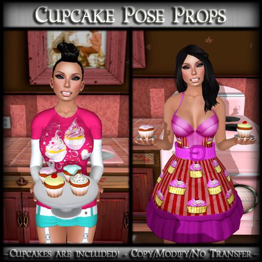 *MP* Cupcake (Pose Prop)