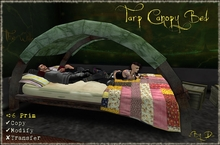 .:DooDaddles by D:. (Tarp Canopy Bed)