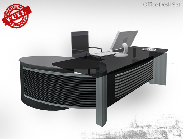 FULL PERM Office Desk Set