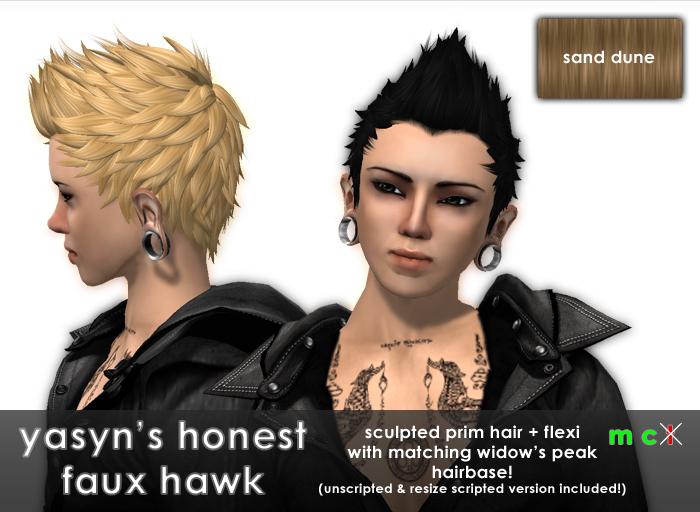 Yasyn's Honest Fauxhawk - Sand Dune