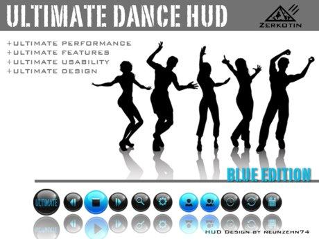 ULTIMATE Dance HUD [BLUE Edition] +10Invites
