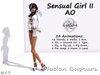 Gaeline Animations - Sensual Girl II AO : just for sweet and sensual women !