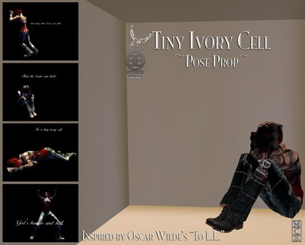 :+:SS:+: Tiny Ivory Cell - Pose Prop