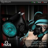 [b.nuts] Sp4wn - sculpted gas mask