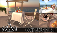 ~BAZAR~ Good Morning set -1L GIFT