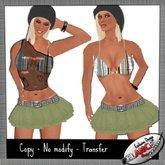 Men's & Women's Sexy Clothing & Accessories ~ Conjunto Verde