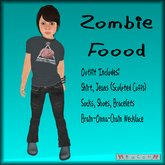 BaCoN ~ Zombie Food Outfit