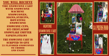 OLD TIME SNOW CONE CART