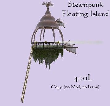 Steampunk Floating Island (boxed)