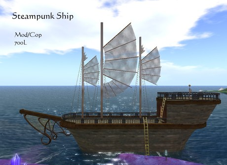 Steampunk Ship (Boxed)