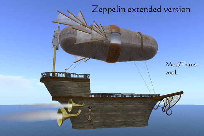 Zeppelin extended version (Boxed)
