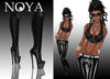 **NOYA** 1 WEEK PROMO SALE - Badgal Black Latex Outfit with Boots