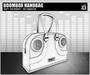 DEF! Handbag / Boombox / White