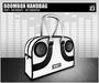 DEF! Handbag / Boombox / White & Black