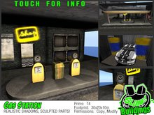 **PROMO-OFFER** Slime! Urban Gas Station - 799 L$ Product
