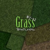 Grass Textures - Mini Pack # 7 - 12