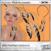 [ glow ] studio - Wild Feathers Hairband