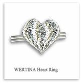 [WERTINA Heart Ring]