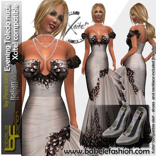 Babele Fashion Evening Toledo Nude