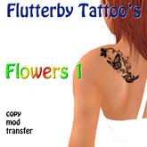 Flowers 1 (left shoulder)