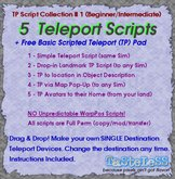 TELEPORT SCRIPTS COLLECTION #1 (Single Destinations)