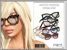 MIEL HIPSTER PEEPERS - tortoise shell