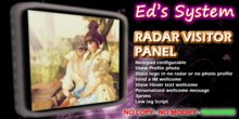 Photo Panel Radar Visitor Panel Ed's System