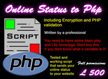 Online Status to PHP