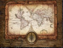 Pirates Map 2.6 w compass ( boxed )