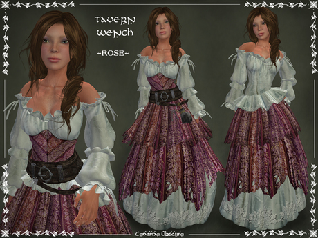 Tavern Wench Womens Costume