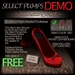~JJ~ Select Pumps DEMO