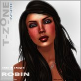 PROMOTION PRICE! T-Zone Inside ROBIN skin & shape CHOCOLATE tone
