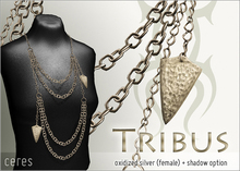 [CERES] Tribus - Oxidized Silver