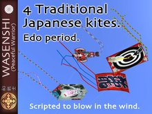 Wasenshi Edo kites