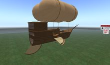 ::Sirkku:: (box) Steampunk air-ship