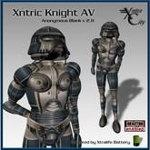 Robot Avatar - Xntric Knight - Blue